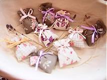 Darčeky pre svadobčanov - Mini levanduľkové vrecko - 3666067