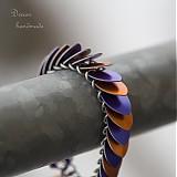 Náramky - Veselý šupináč - náramok - 3671278
