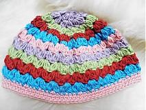 Detské čiapky - Prechodná crazy čiapočka - 3674650