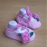 Topánočky - Ružové balerínky - 3677068