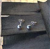 Náušnice - lesklé guličky - 3677110