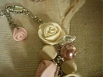 Náramky - Náramok Vintage Roses - 3680394