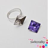 Komponenty - Prsten na PRINCESS 12 SWAROVSKI ® ELEMENTS - 3681013