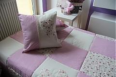 Úžitkový textil - patchwork deka a obliečka SET za super cenu - 3684507