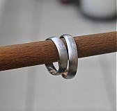 Prstene - Ľadový bozk ... zlaté - 3695999