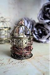 Dekorácie - Shabby chic vintage veľkonočná dekorácia - 3696104