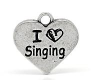 Prívesok I LOVE SINGING