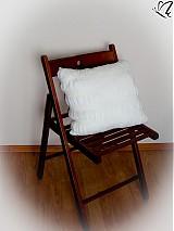 Úžitkový textil - _na ľudové motívy v bielom mohére - 3711252