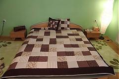 Úžitkový textil - patchwork deka 140x200 alebo 220x220 a vankúš za super cenu - 3715183