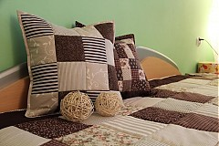 Úžitkový textil - patchwork deka 140x200 alebo 220x220 a vankúš za super cenu - 3715189