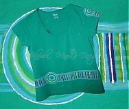 origo tričko tyrkysové