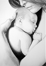 Obrazy - ... Materinská láska... - 371566