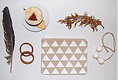 Taštičky - White triangles - 3715988