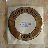 Farby-laky - Medená páska na cínovanie - kotúč - 3716087