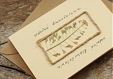 Papiernictvo - srdečné blahoželanie 01 - 3716535