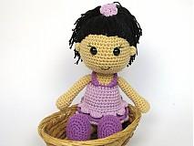 Návody a literatúra - Háčkovaná bábika Anežka - návod - 3722334