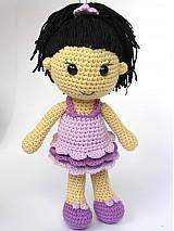 Návody a literatúra - Háčkovaná bábika Anežka - návod - 3722335