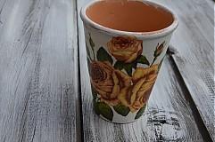 Nádoby - Vintage ružový - 3735390