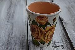 Nádoby - Vintage ružový - 3735416