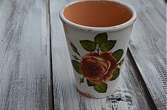 Nádoby - Vintage ružový - 3735418