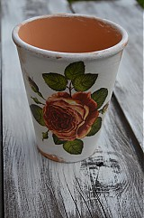 Nádoby - Vintage ružový - 3735419