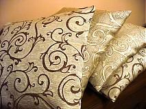 Úžitkový textil - ornament/ 4ks - 386607