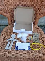 Materiál ručne robený - POLOTOVAR  BARBORKA  - 38946