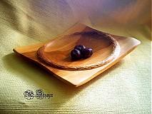 Nádoby - Moderná miska z čerešničky / na objednávku - 390239