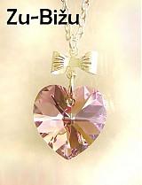 Náhrdelníky - Ružový prívesok :) - 401681