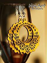 Kvetinkový kruh žltý