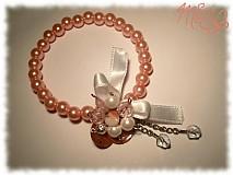 Sady šperkov - salmon lady  - 417237