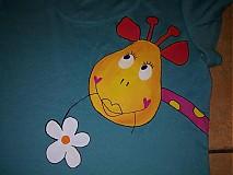 Tričká - tričko  ŽIRAFKA - 422205
