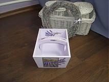 Krabičky - Drevený košík - 425056