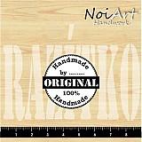 Nezaradené - Razítko Handmade okrúhle - 432269
