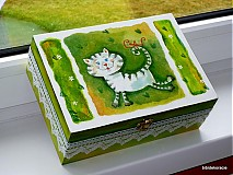 Krabičky - Hravá mačička - 438022