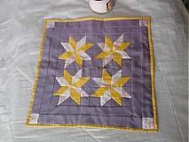 Úžitkový textil - nežná LILA - 441676