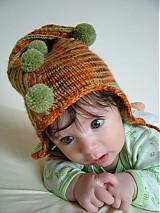 Detské čiapky - Škriatkovská čiapočka 3 - 451365