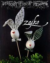 Dekorácie - Veľkonočný zajko - 464547