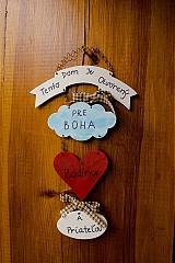 Tabuľka na dvere