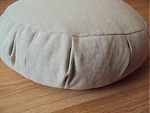 Úžitkový textil - meditačný vankúš (zafu) - 494532