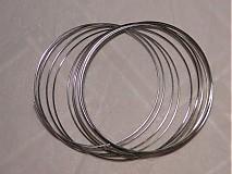 Suroviny - Pamäťový drôt-platina-10 ot. - 509226
