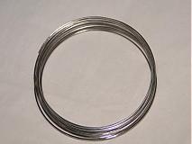 Suroviny - Pamäťový drôt-platina-10 ot. - 509228