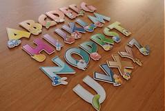 Tabuľky - abeceda 6,5cm - 513168