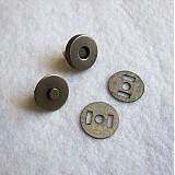 Galantéria - Magnetické zapínanie 18 mm staromosadz - 517910
