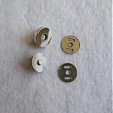 Galantéria - Magnetické zapínanie 18 mm nikel - 517916