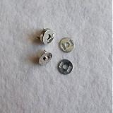 Galantéria - Magnetické zapínanie 14 mm nikel - 517919