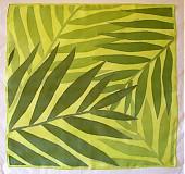 Šatky - Malé zelené palmy - 524422