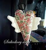 Dekorácie - srdiečkový anjel - 531880