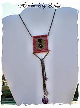 Náhrdelníky - Buttons on a shirt - náhrdelník - 53236