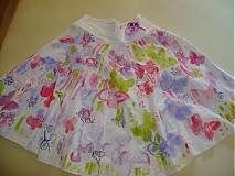 Sukne - Roztopašná sukienka - 533376